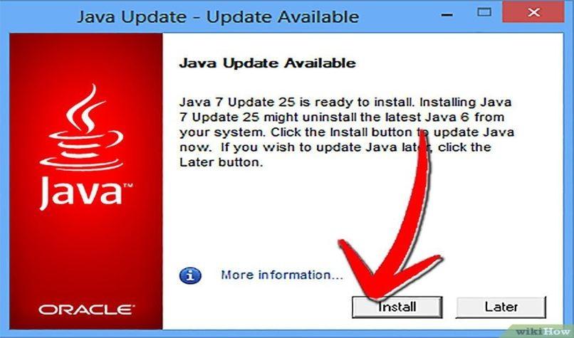 Erfahren Sie, wie Sie die Java-PC-Version aktualisieren