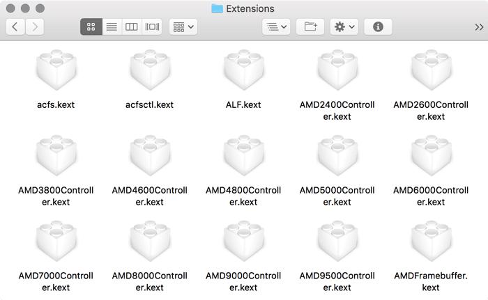 So fügen Sie Kext zu macOS hinzu und entfernen es