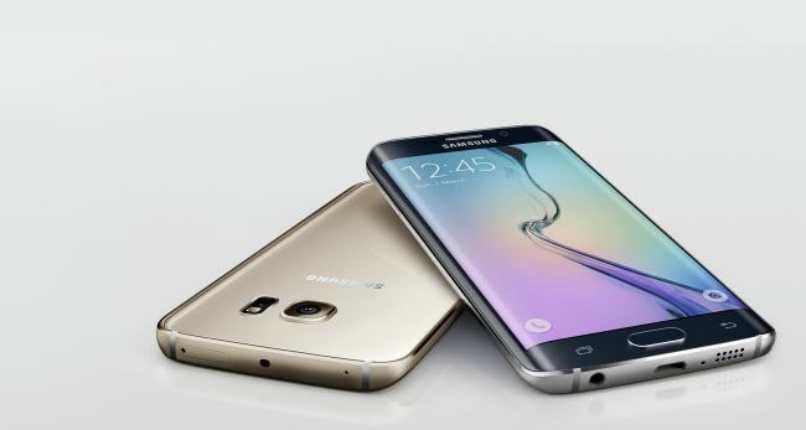 Handys Ausstellung neue Bildschirm Samsung Galaxie