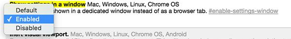 So öffnen Sie die Google Chrome-Einstellungen in einem neuen Fenster[Consejos rápidos] Möchten Sie, dass die Google Chrome-Einstellungen in einem neuen Fenster anstelle eines neuen Tabs geöffnet werden?  Dieser kurze Tipp zeigt Ihnen, wie Sie dies tun, indem Sie eine Flagge ändern.