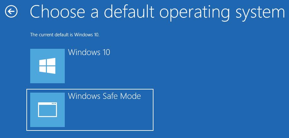 Hinzufügen von Secure Boot to Boot-Optionen in Windows 10. Das Booten im abgesicherten Modus ist häufig die effizienteste Methode zur Behebung von Windows-Problemen.  Fügen Sie der Windows-Startoption einen sicheren Start hinzu, um schnell in den abgesicherten Modus zu starten.