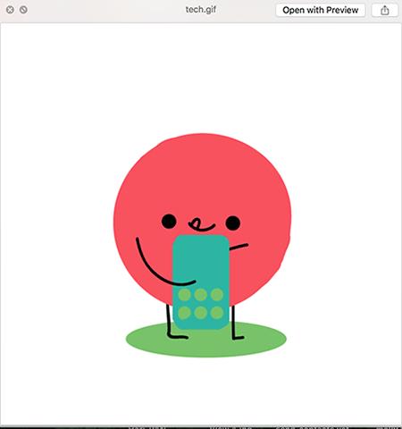 So spielen Sie animierte GIFs auf Ihrem Mac ab