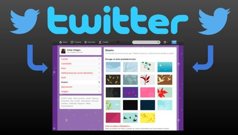 Passen Sie Twitter aus Ihrem Menü an