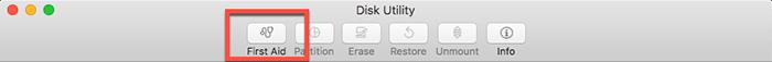 So reparieren Sie Festplattenberechtigungen auf einem Mac