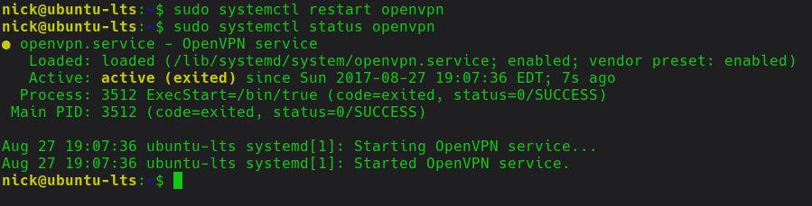 So stellen Sie unter Linux automatisch eine Verbindung zu einem VPN her