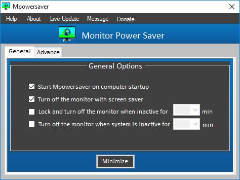 Schalten Sie den Monitor bei einem Windows-Absturz automatisch aus