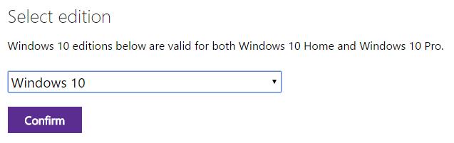 Windows 10 ISO-Download-Tipp von Microsoft