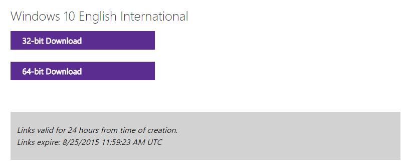 Tipp zum Herunterladen der Windows 10-ISO von Microsoft