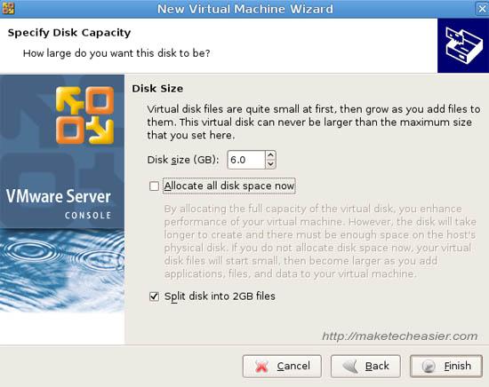 Installieren von (K) Ubuntu unter Ubuntu mit VMware Server