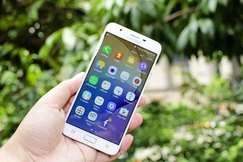 Samsung Galaxy mit Onscreen-Apps