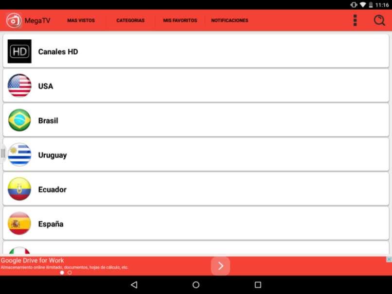 Kostenlose Android HD Megatv Player Kanäle