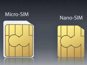 Unterschiede zwischen Nanosim und Microsim
