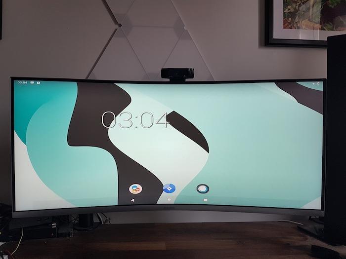 Sie gelangen nun zum Android-Startbildschirm