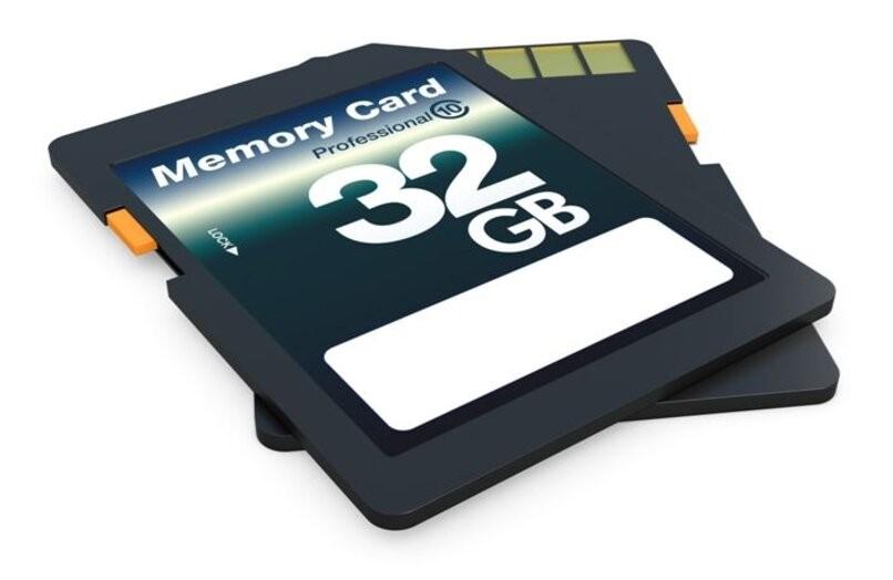 32 GB Micro-SD-Zelle