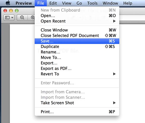 So entfernen Sie ein Kennwort aus einer PDF-Datei auf Ihrem Mac