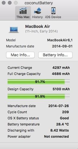So führen Sie die iPhone-Batteriediagnose auf einem Mac aus