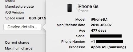So führen Sie die iPhone-Batteriediagnose auf einem Mac durch