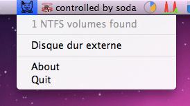 So montieren Sie die NTFS-Partition einfach auf einem Mac Snow Leopard