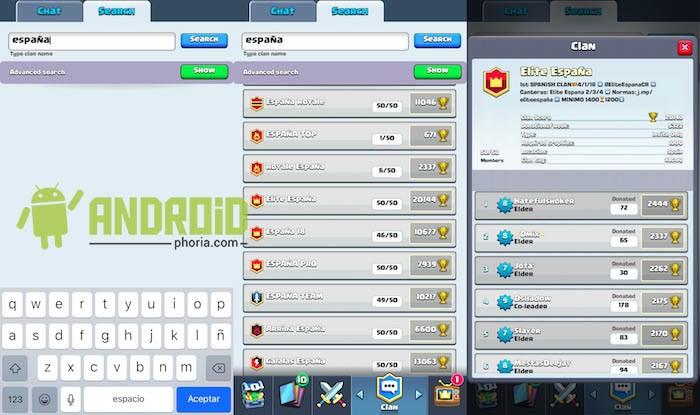 Clash Royale 2 leere Chat-Lösung