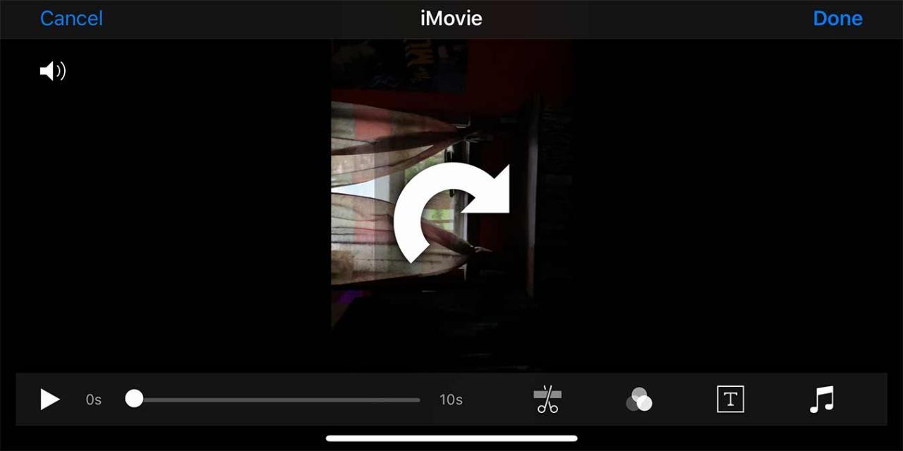 So drehen Sie ein Video auf Ihrem iPhone.  Sie können Ihre Videos auf Ihrem iPhone nicht mit der Standard-Foto-App drehen. Es gibt jedoch auch andere Möglichkeiten, Ihre Videos auf einem iPhone zu drehen und zu bearbeiten.