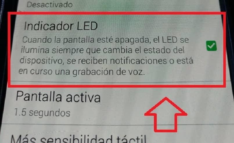 Samsung LED-Anzeige aktivieren