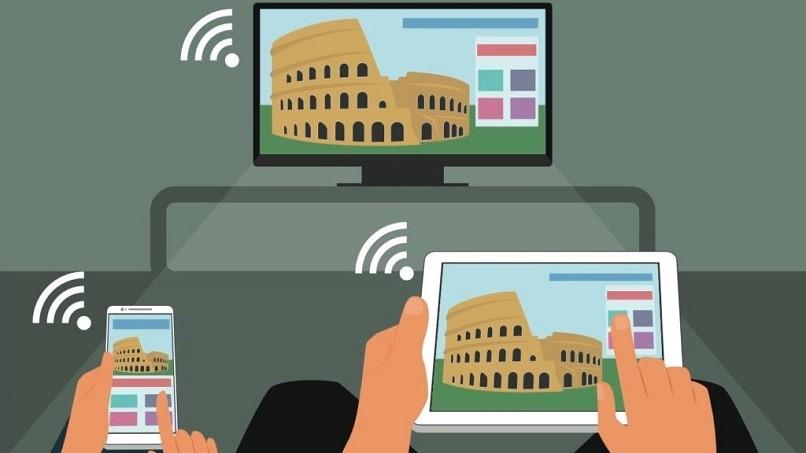 Schließen Sie einen Samsung Smart TV über WLAN an