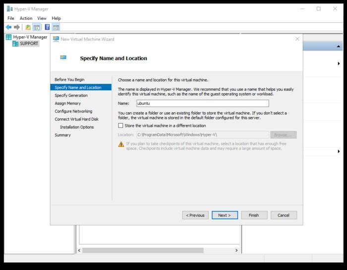 So führen Sie Ubuntu unter Windows 10 mit Hyper-V aus