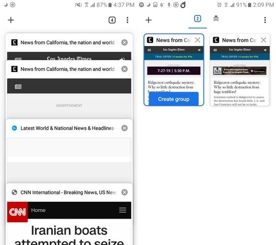 So erstellen Sie Registerkartengruppen in Chrome - Android Mit den folgenden Chrome-Flags in Android können Sie Ihre Registerkarten nach Themen gruppieren und den Wechsel zwischen Registerkarten erleichtern.