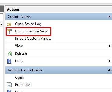 Was sind benutzerdefinierte Ansichten in der Windows-Ereignisanzeige und wie wird eine erstellt?