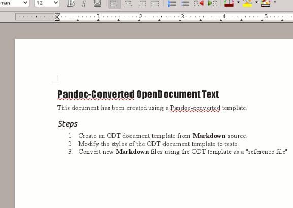 Verwenden Sie Pandoc, um Textdateien einfach in das PDF- oder eBook-Format zu konvertieren