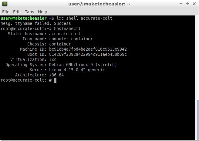 Einführung in Ubuntu LXD-Container
