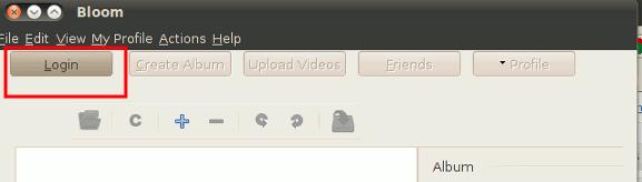 So laden Sie Fotos von Ubuntu auf Facebook hoch