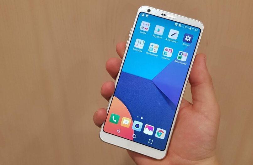 LG-Telefon auf Ihrem Startbildschirm