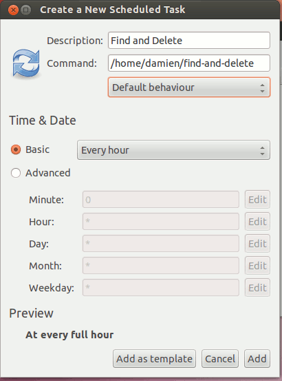 So löschen Sie automatisch alte Dateien aus einem Ordner in Linux