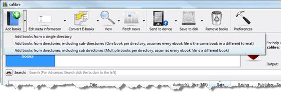 Verwalten Sie Ihre E-Book-Bibliothek mit Calibre