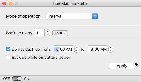 So ändern Sie den Backup-Zeitplan von Time Machine für Mac