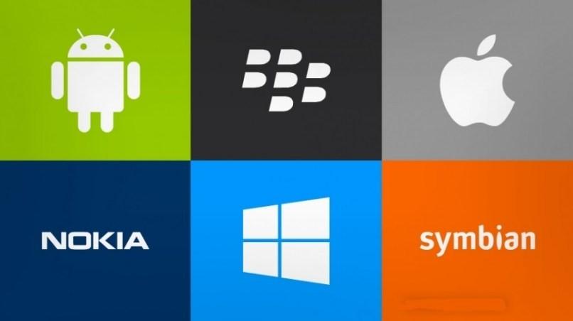 verschiedene mobile Betriebssysteme