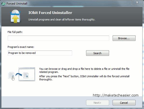 IOBit Uninstaller - ein tragbares und praktisches Tool zum vollständigen Entfernen unerwünschter Programme