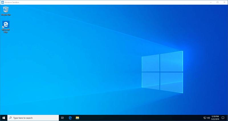 Was ist Windows Sandbox und wie wird es zum Ausführen von Anwendungen verwendet?  Mit dem Windows 10 May 2019 Update hat Microsoft eine neue Windows-Sandbox-Funktion hinzugefügt.  In diesem Artikel erfahren Sie, was Windows Sandbox wirklich ist und wie Sie es aktivieren.