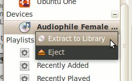 So rippen Sie Audio-CDs unter Linux