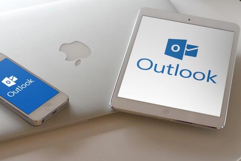 Outlook läuft auf Apple-Geräten