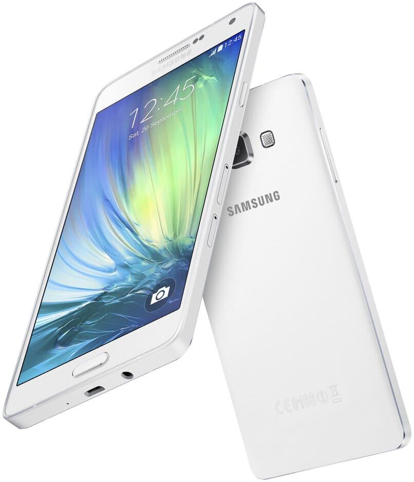 mobile samsung a700f weiße farbe