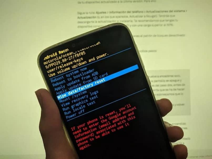 Führen Sie einen Hard-Reset auf dem Huawei-Handy durch