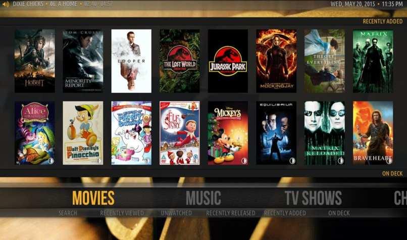 Verwenden Sie Plex Filme im Fernsehen ansehen