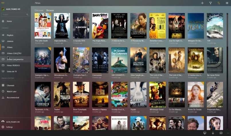 Filme ansehen Plex-App