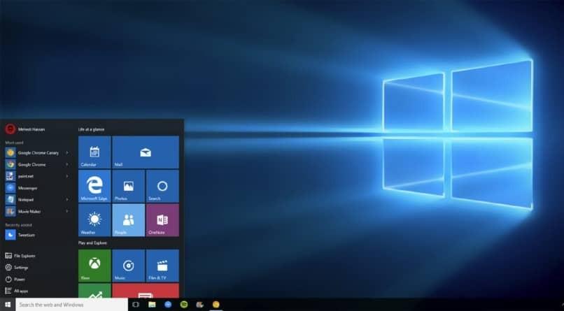 windows 10 pro bildschirm