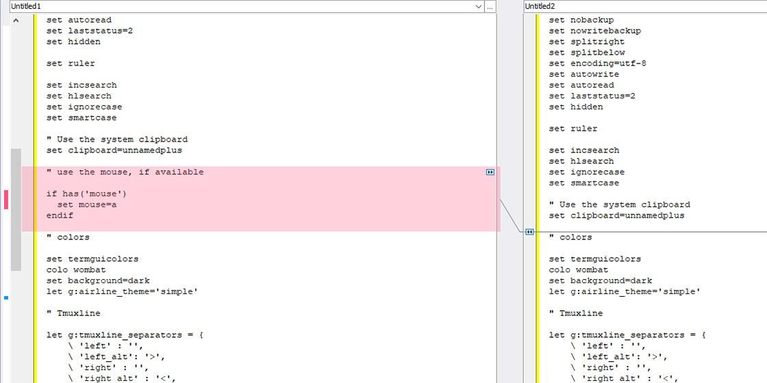 Betrachten Sie Ihren Code wie ein Profi mit Code Compare.  Wenn Sie Ihren Code umgestalten möchten, um ähnliche Snippets in eine einzelne Funktion zu verschieben, die Sie wiederverwenden können, kann ein erweitertes Tool wie Code Compare hilfreich sein.