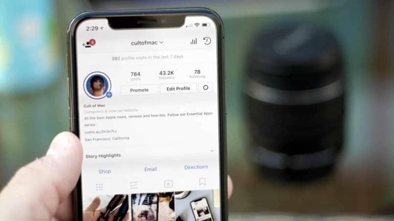 Wie lade ich ein neues Foto in mein Instagram-Profil hoch