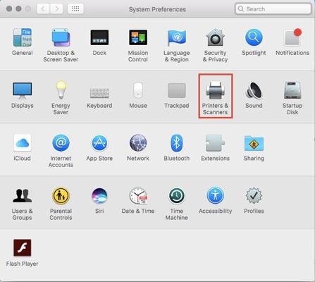 So beheben Sie, dass ein Mac nicht mit dem Drucker kommuniziert