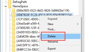 So entfernen Sie den 3D-Objektordner aus dem Windows 10-Datei-Explorer Windows Fall Creators Update hat dem Windows-Explorer einen 3D-Objektordner hinzugefügt.  So löschen Sie den Ordner 3D-Objekte und verhindern, dass er angezeigt wird.